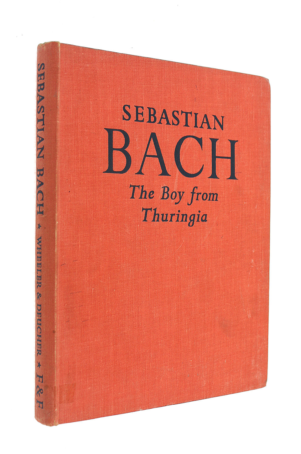 Image for Sabastian Bach The Boy from Thuringia