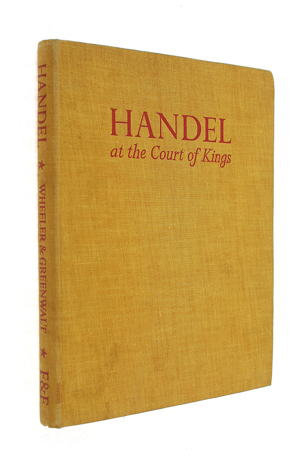 Image for Handel at the court of kings