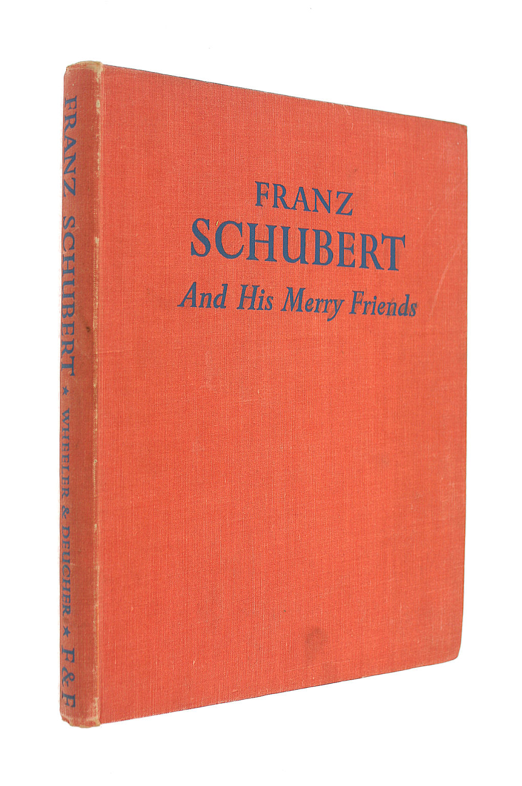 Image for FRANZ SCHUBERT AND HIS MERRY FRIENDS.
