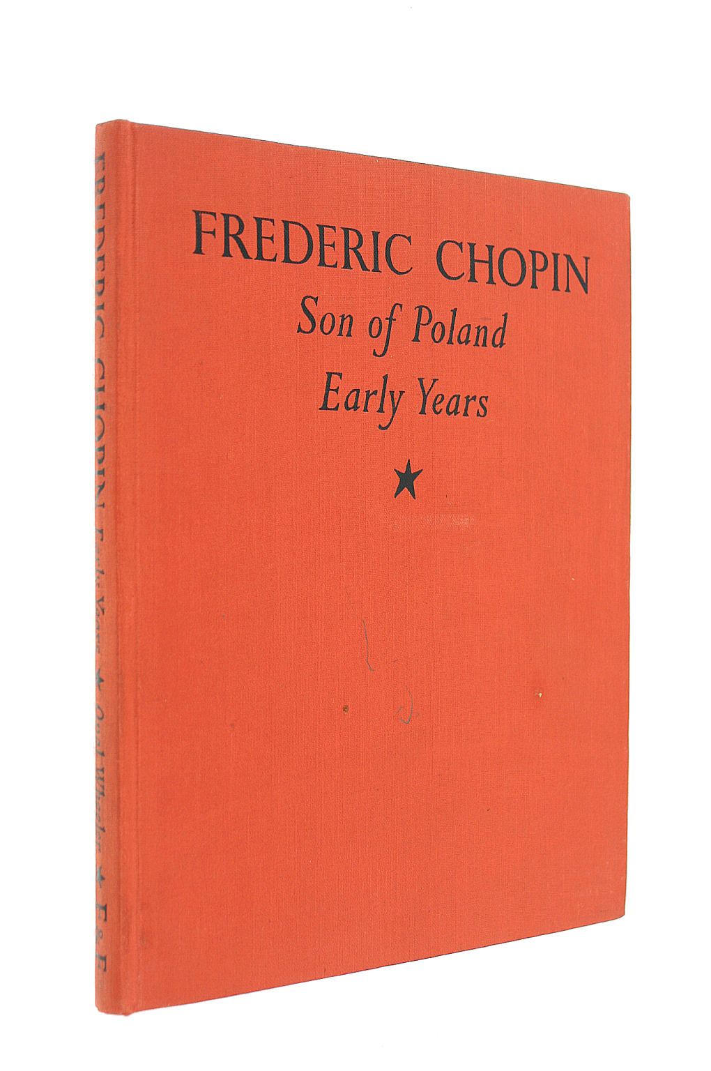 Image for Frederic Chopin, The Early Years