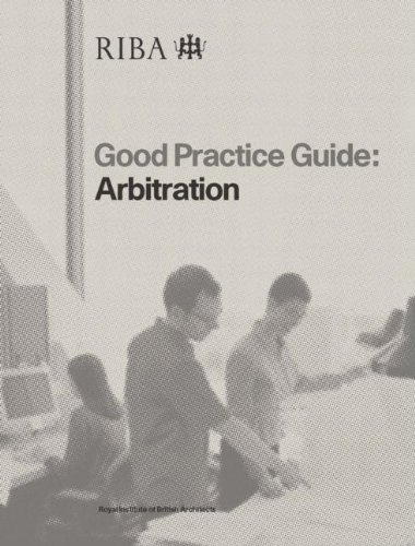 Good Practice Guide: Arbitration, Davies, Mair Coombes